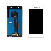 Дисплей SONY F3311 Xperia E5 c білим тачкрином