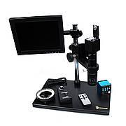 Мікроскоп SUNSHINE MS10E-03 (з ЖК Екраном) цифровий, електронний, HDMI + підсвітка