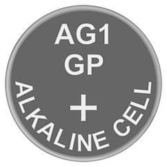 Батарейка годинникова лужна AG1 (LR60, LR620, GP164) GP 1.5 V