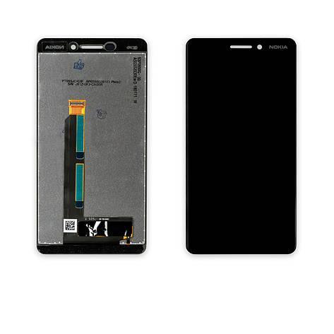 Дисплей NOKIA 6.1 Dual Sim (TA-1043) з чорним тачскріном, фото 2