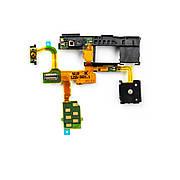 Шлейф SONY LT29 на кнопку включения с компонентами