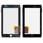 Тачскрін ACER Iconia Tab A100 з рамкою чорний