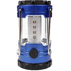 Кемпінговий ліхтар (12 LED, 180 люмен, регулювання яскравості, 3xAA)