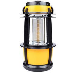 Кемпінговий ліхтар (30 LED, 450 люмен, регулювання яскравості, 4xD)