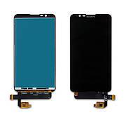 Дисплей SONY E2104/E2105/E2114/E2115/E2124 Xperia E4 з чорним тачскріном