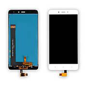 Дисплей XIAOMI Redmi Note 4 c білим тачскріном