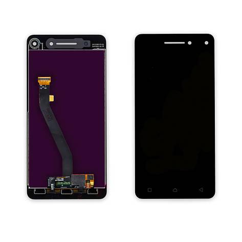 Дисплей LENOVO Vibe S1 (S1a40) з чорним тачскріном, фото 2