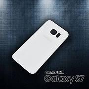 Задняя крышка SAMSUNG G930F Galaxy S7 (2016) белая, оригинал