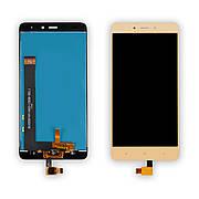 Дисплей XIAOMI Redmi Note 4 c золотистим тачскріном