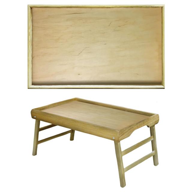 купить деревянный столик для завтрака