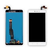 Дисплей XIAOMI Redmi Note 4X c білим тачскріном