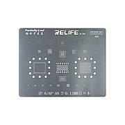 Трафарет BGA RELIFE RELIFE RL-044 6/6 Plus A8 CPU 0.12 MM