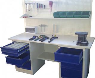 Верстаки залізні столи металеві