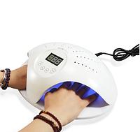 Лампа для манікюру SUN 669 48Вт на дві руки з вентилятором