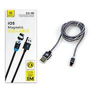 Кабель USB-Lightning MIMACRO SJX-182 магнітний