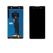 Дисплей SONY F3311 Xperia E5 c чорним тачкрином