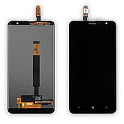Дисплей NOKIA 1320 з чорним тачскріном і рамкою