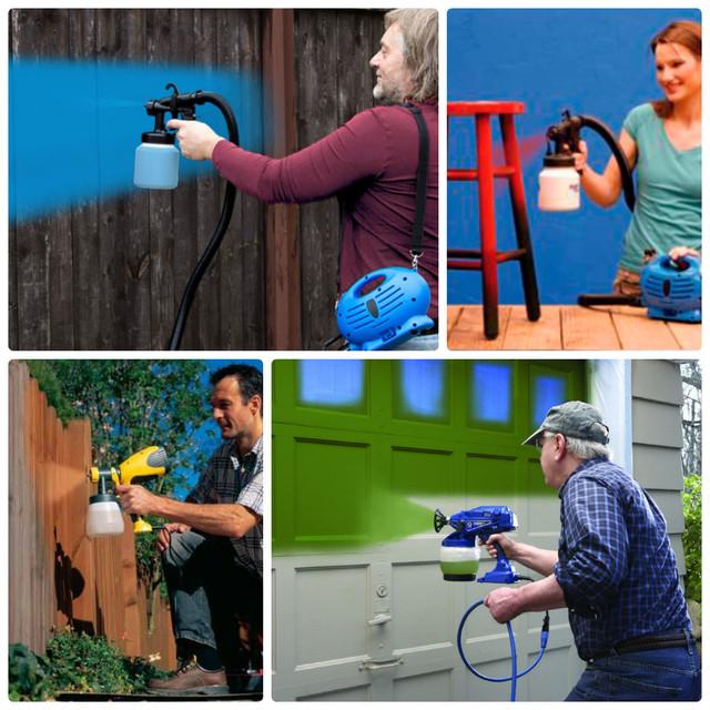 Электрические краскопульты и краскораспылители
