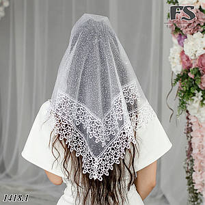 Белый Платок невесте Златка