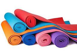 Килимки для йоги, фітнесу