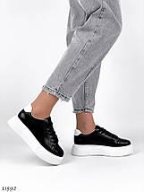 Кожаные кроссовки 11592 (ЯМ), фото 2