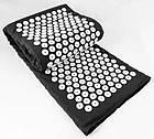 ОПТ Акупунктурный массажный коврик с подушкой-валиком массажер для спины/ног osport спортивный коврик черный, фото 5