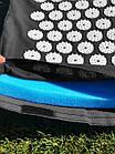 ОПТ Акупунктурный массажный коврик с подушкой-валиком массажер для спины/ног osport спортивный коврик черный, фото 8