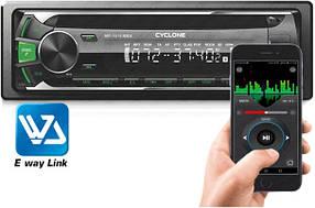 Автомагнитола CYCLONE MP-1019MBAG (Bluetooth, A2 DP, микрофон,12 мес гарантия)