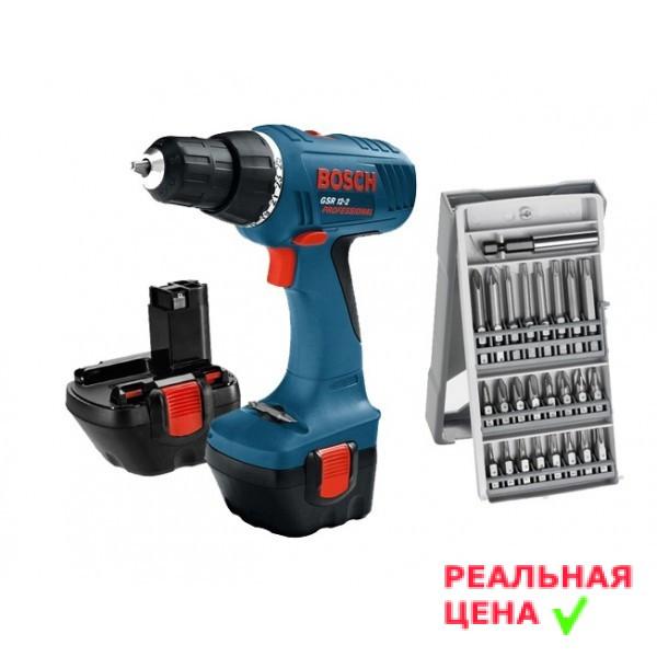 ✅ Шуруповёрт аккумуляторный Bosch GSR 12-2