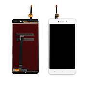 Дисплей XIAOMI Redmi 4A c білим тачскріном