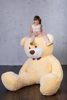 Величезний м'який ведмедик Yarokuz Вільям 250 см Персиковий