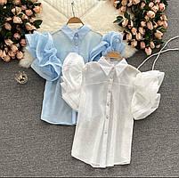 Жіноча блуза повітряна 42-44, 44-46