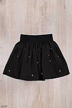 Школьная юбка для девочки рост 110-134 (5-9 лет) 2 цвета