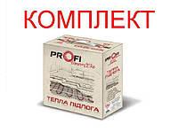 Теплый пол Profi Therm Eko flex Кабель нагревательный двужильный тонкий 385 Вт 2,5-4,2 м2 (КОМПЛЕКТ)