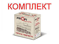 Теплый пол Profi Therm Eko flex Кабель нагревательный двужильный тонкий 425 Вт 3-5 м2 (КОМПЛЕКТ)