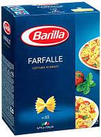 Макароны твердых сортов Barilla «Farfalle» n. 65, (итальянские макароны барилла бабочки) 500 гр., фото 1