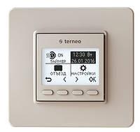 Програмований терморегулятор Бежевий DS Electronics terneo pro (terneopron)