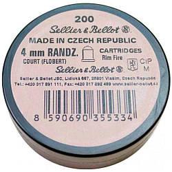 Набої пневматичні Флобера Sellier Bellot Чехія  упаковка 200шт ES, КОД: 2541692