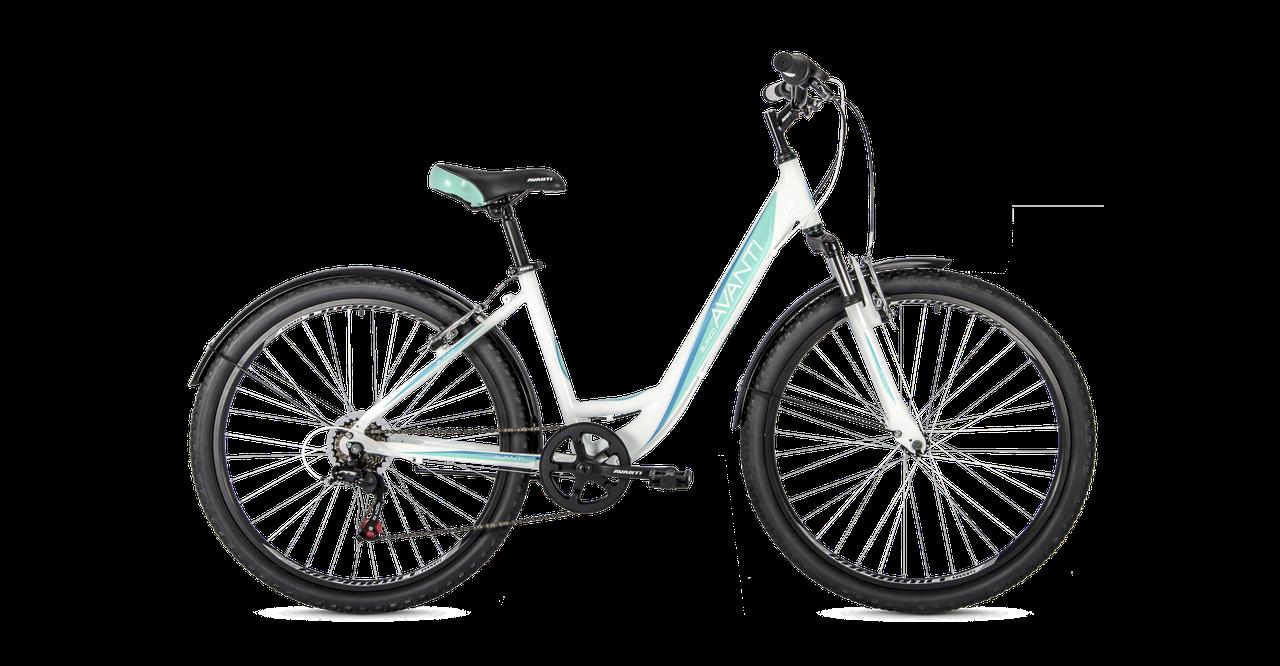 """Велосипед AVANTI Blanco 26"""" 2021 білий"""