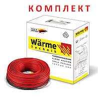 Кабель нагрівальний двожильний тонкий Warme Technik 1500 Вт (warme_cab_1500)