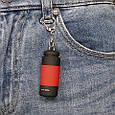 Светодиодный USB фонарик брелок с зарядкой от usb, фото 3