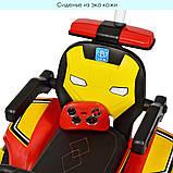 Трактор детский Электромобиль 4321BLR с подвижным ковшом ручкой, фото 6