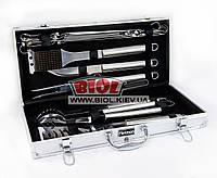 Набор инструментов для барбекю (12 пр.) в кейсе FISSMAN BQ-1015.12