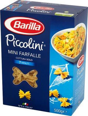 Макароны твердых сортов Barilla Piccolini «mini Farfalle», детская серия 500 гр.