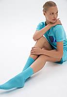 SO198 Набор носков, цвет аквамариновый/белый, 2 пары, размер 36-38, фото 1