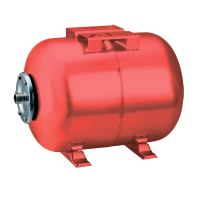 Гідроакумулятор горизонтальний 50л WETRON (779223)