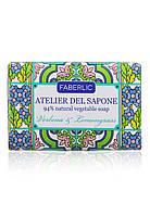 Мыло натуральное кусковое «Вербена и лемонграсс» Atelier del Sapone, фото 1