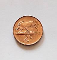 2 цента Южная Африка 1985 г., фото 1