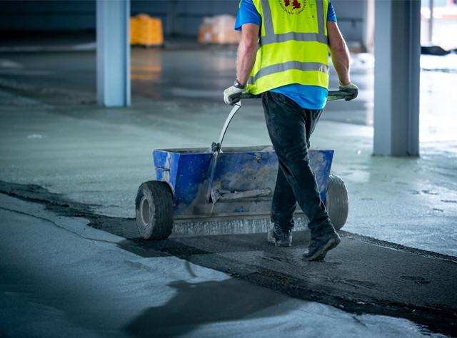 VELOSIT DS 271 Зміцнювач - топінг для підлоги на основі корунду. 25 кг. (сухе на мокре)