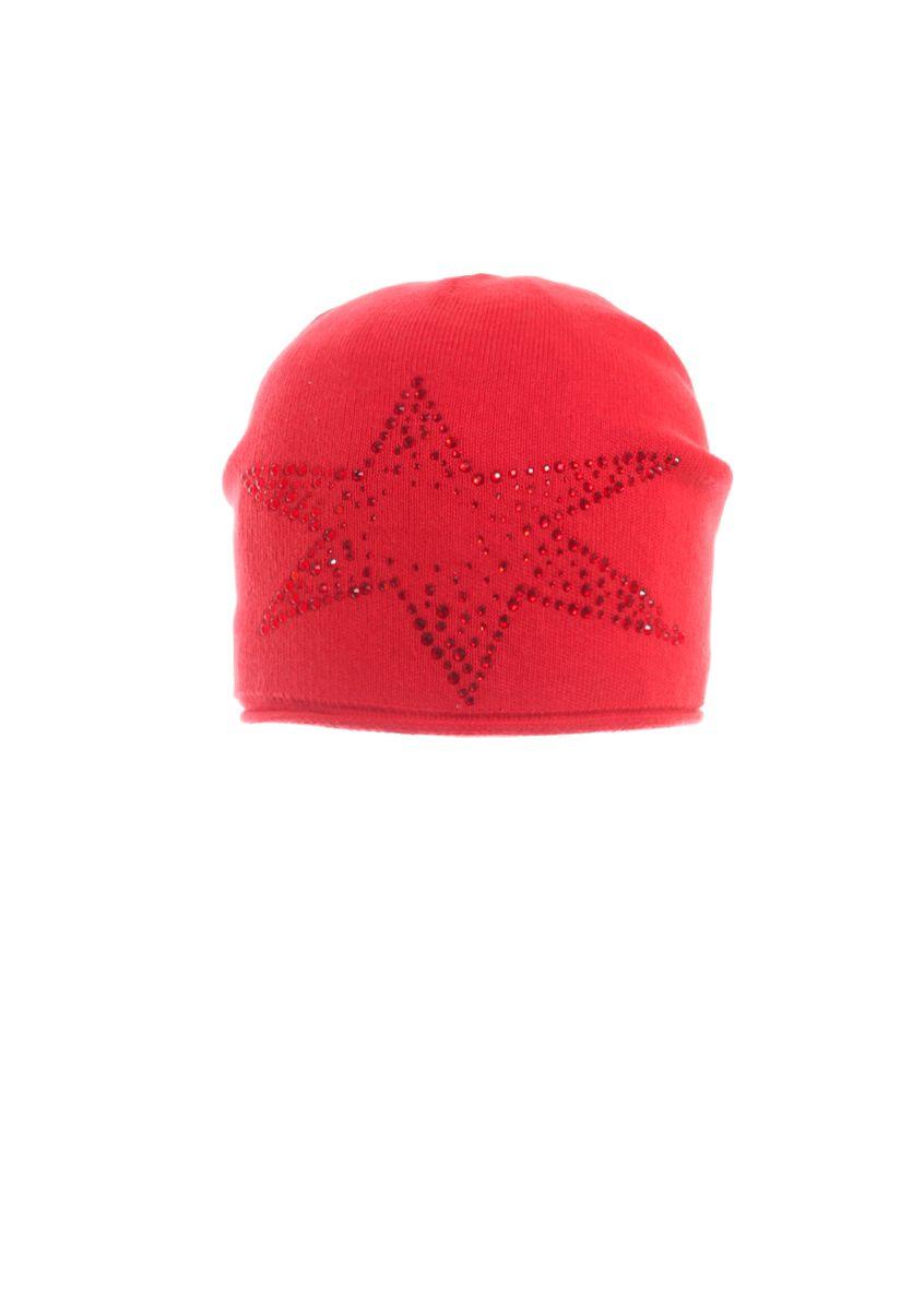 Молодежная теплая стильная  шапка недорого.